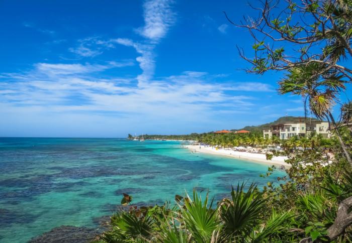 roatan island cheapest tropical vacation destinations