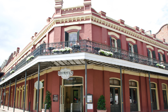 things to do in new orleans Muriel's Jackson Square