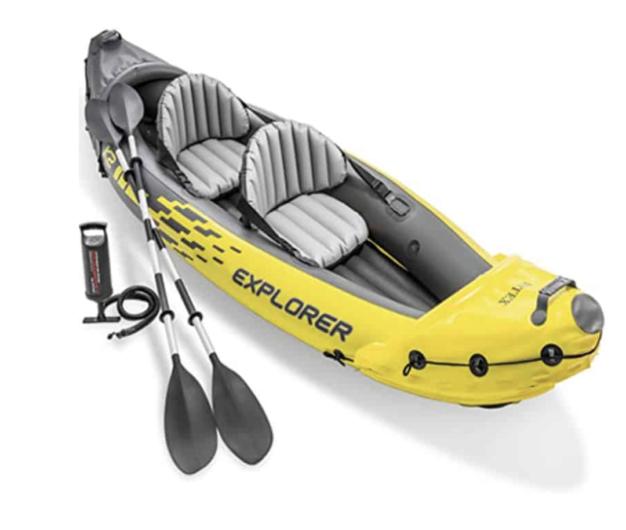 kayaking in lake mead