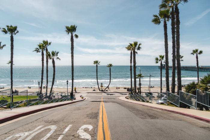 beachfront hotels in California