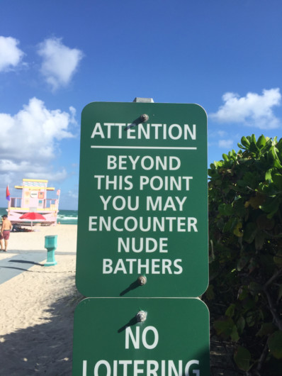 best nude beaches in Florida