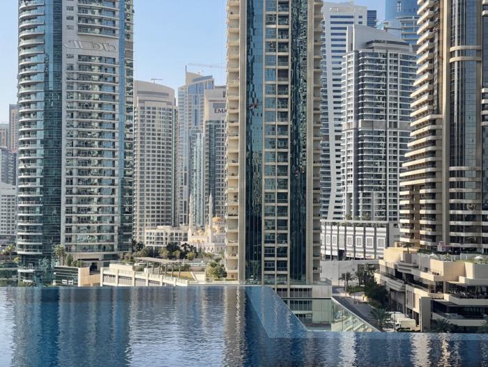 Jumeirah Living Marina Gate pool