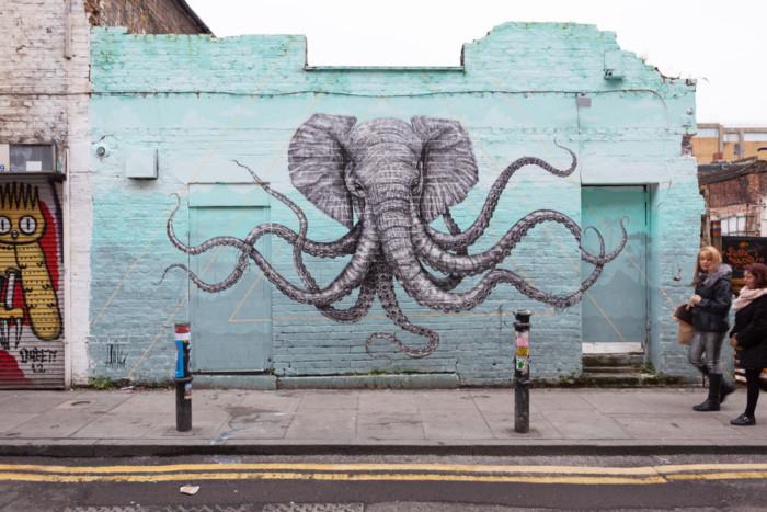 London sightseeing art tour