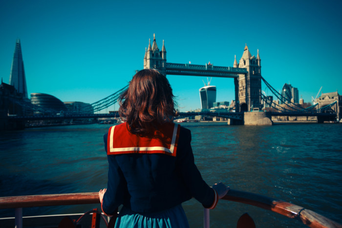 London sightseeing river cruise on thames