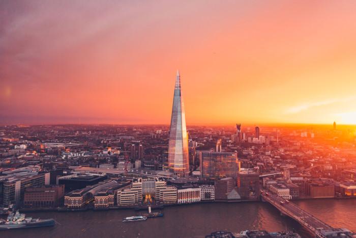 London sightseeing the shard