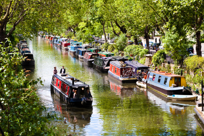 Regent's Canal london sightseeing