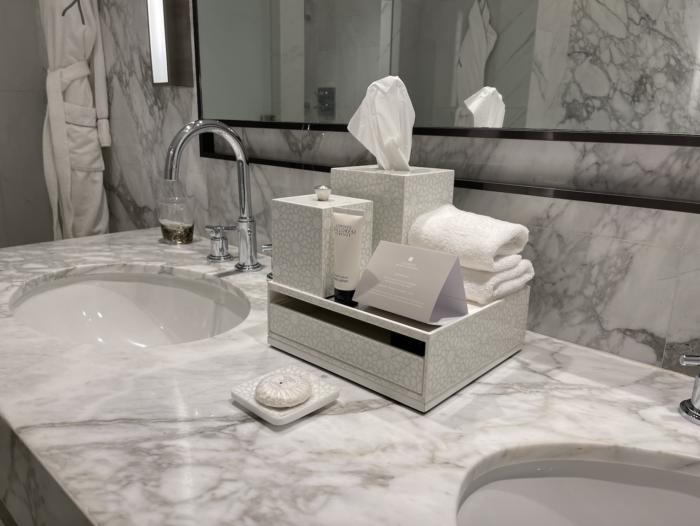 The Address Downtown Hotel bathroom photos