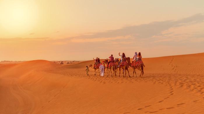 dubai sightseeing desert safari