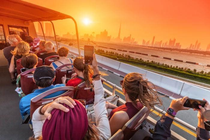 sightseeing dubai bus tour