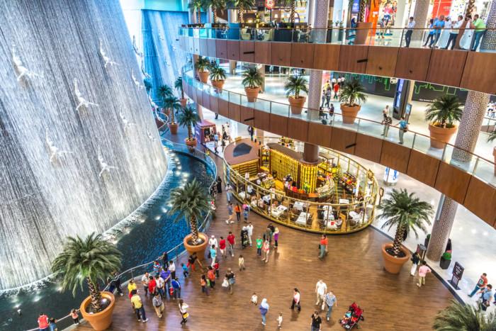 sightseeing in dubai mall