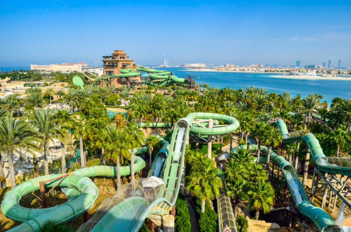 sightseeing in dubai waterparks
