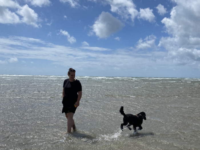 dog friendly west wittering beach photos