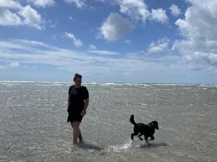 dog friendly west wittering beach photos