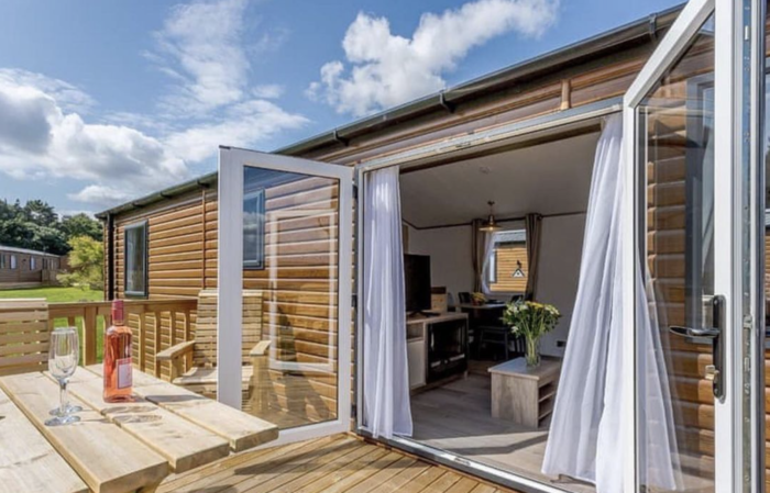 THE BEST holiday lodges with hot tubs in the UK