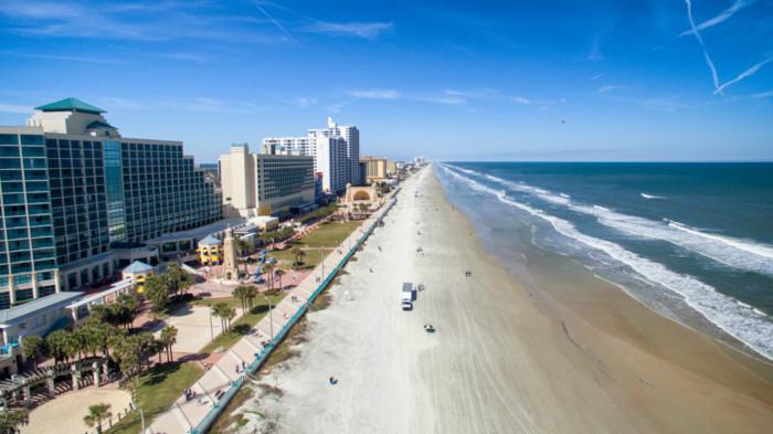 Aerial,View,Of,Daytona,Beach,,Florida.