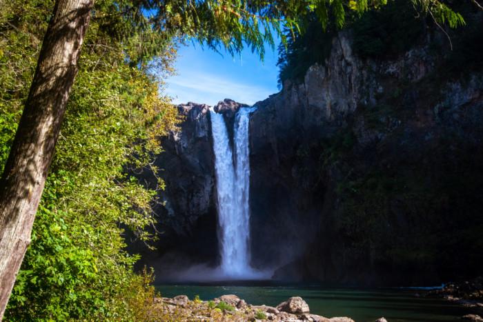 twin Falls Snoqualmie Waterfall Beautiful waterfalls near Seattle