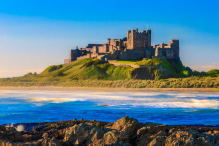 Bamburgh Castle castles in England