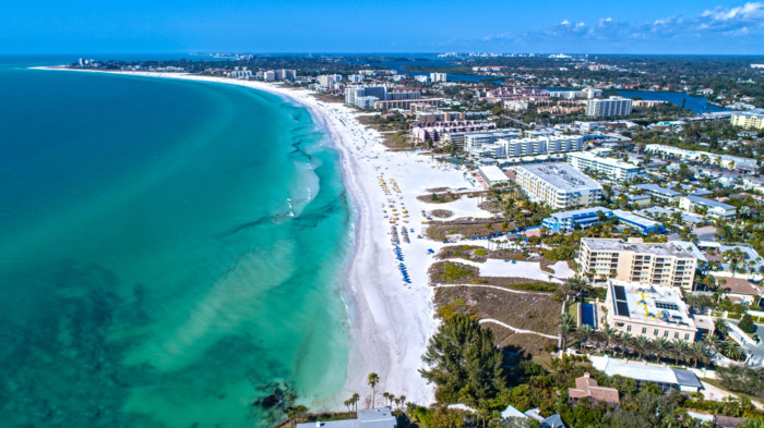 Siesta Key Beach beaches near florida