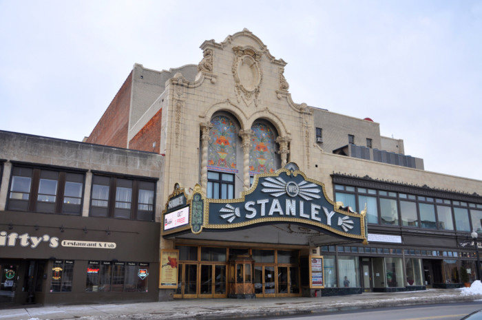 things to do in Utica - stanley theatre
