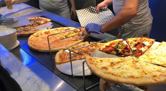 secret pizza las vegas food