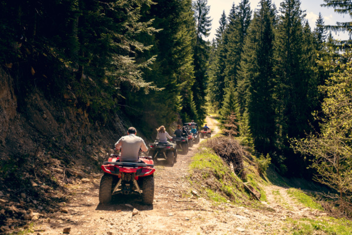 the best ATV trails near me
