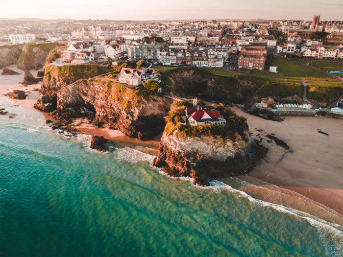 Newquay what is the nicest town in Cornwall