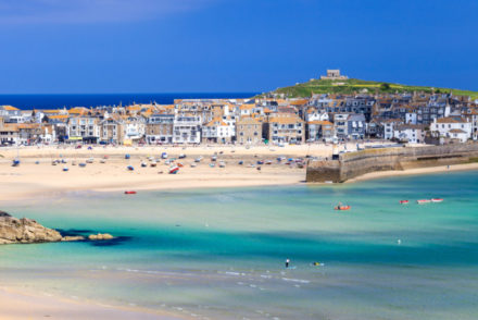 st ives - what is the nicest town in Cornwall