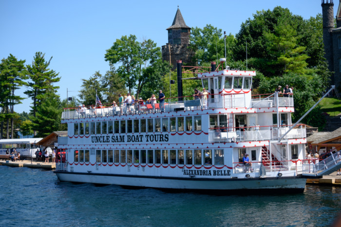 boat tour top things to do in Thousand Islands NY
