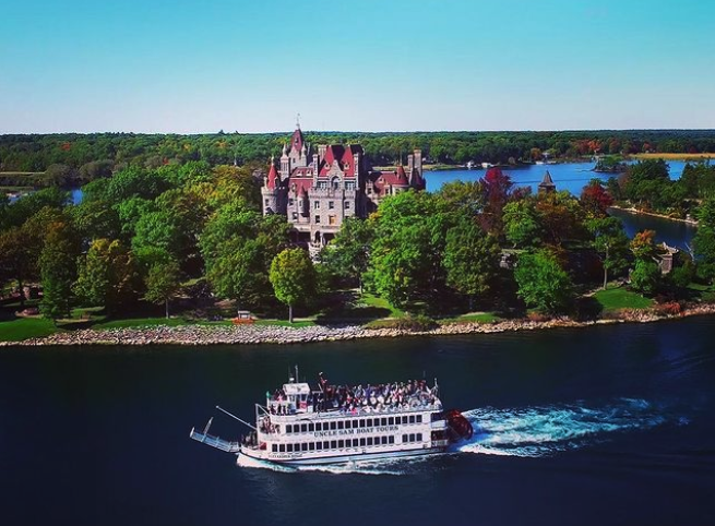 castle things to do in Alexandria Bay NY