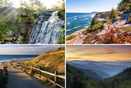 east coast national parks