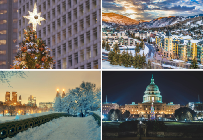 winter vacations in the USA