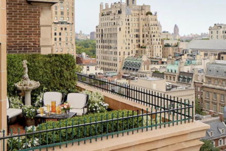 new york hotels with balcony