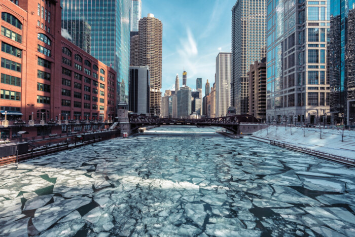 coldest month in chicago