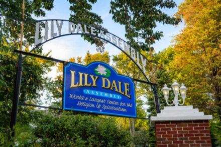 Visiting Lily Dale NY