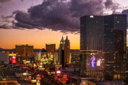Las Vegas in November