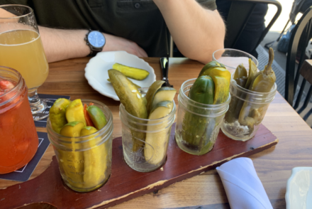 the best pickles in NYC