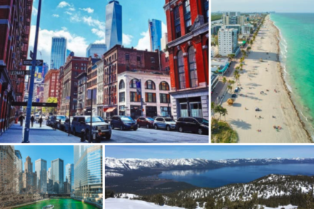the best places to visit in March USA