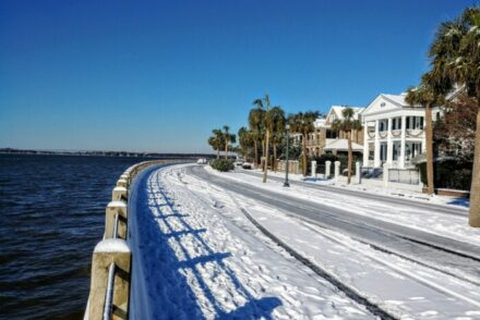 Does it snow in South Carolina?
